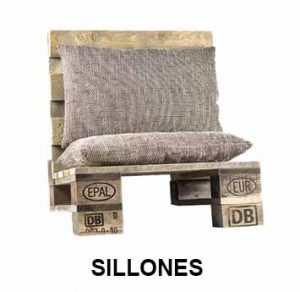 sillones palets
